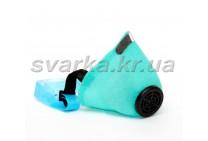 Респиратор У2К  голубой
