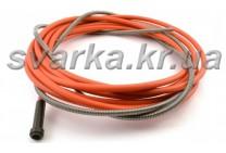Спираль подающая красная 2.0 / 4.5 / 340 мм для проволоки d 1.0 - 1.2 мм