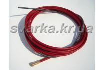 Спираль подающая красная 2.0 / 5.5 / 540 мм для проволоки d 1.0 - 1.2 мм