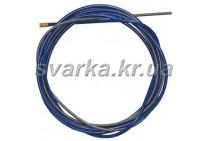 Спираль подающая синяя 3.0 / 6.4 / 540 мм для проволоки d 2.0 - 2.4 мм