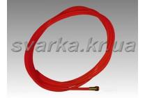 Тефлоновый канал красный 2.0 / 4.0 / 350 мм для алюминиевой проволоки d 1.0 - 1.4 мм