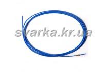 Подающий тефлоновый канал синий 1.5 / 4.0 / пог.м для алюминиевой проволоки d 0.8 - 1.0 мм