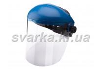 Щиток защитный НБТ Vision (толщина 3,0 мм) с наголовником от маски Хамелеон