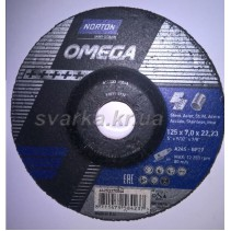 Круг зачистной Norton 125х7.0х22 Omega