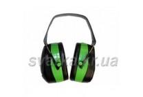Наушники 32dB зелёные усиленный наголовник
