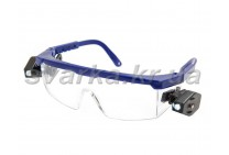 Очки защитные Комфорт LED Plus (линза ПК прозрачная)