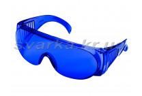 Очки защитные ОЗОН синие