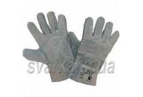 Перчатки сварочные замшевые (серые)