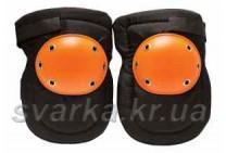 Наколенники защитные строительные с оранжевой накладкой