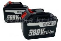 Литиевая батарея Li-ion 588Vf (аналог Makita 18V) для цепной мини пилы 4/6/8/10 дюймов