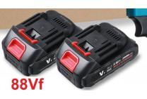 Литиевая батарея Li-ion 88Vf (аналог Makita 18V) для цепной мини пилы 4/6/8 дюймов