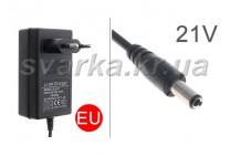 Зарядное устройство SLH-21 для аккумуляторной батареи цепной мини пилы 4/6/8 дюймов