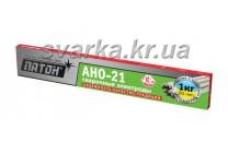 Электроды АНО-21 Ø 3 мм ПАТОН (пачка 1 кг)