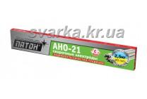 Электроды АНО-21 Ø 3 мм ПАТОН (пачка 2.5 кг)