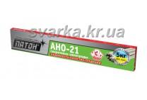 Электроды АНО-21 Ø 4 мм ПАТОН (пачка 5 кг)