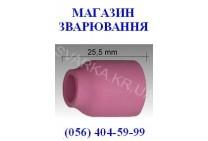 Керамическое сопло № 4 L=25.5 мм NW 6.5 мм для корпуса цанги с диффузором ABITIG / SRT 9 / 20