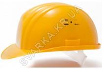 Каска строительная светло-оранжевая